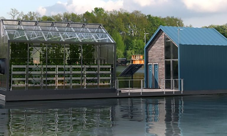 Eco Barge Floating Greenhouse Produces Clean Energy And Food-7