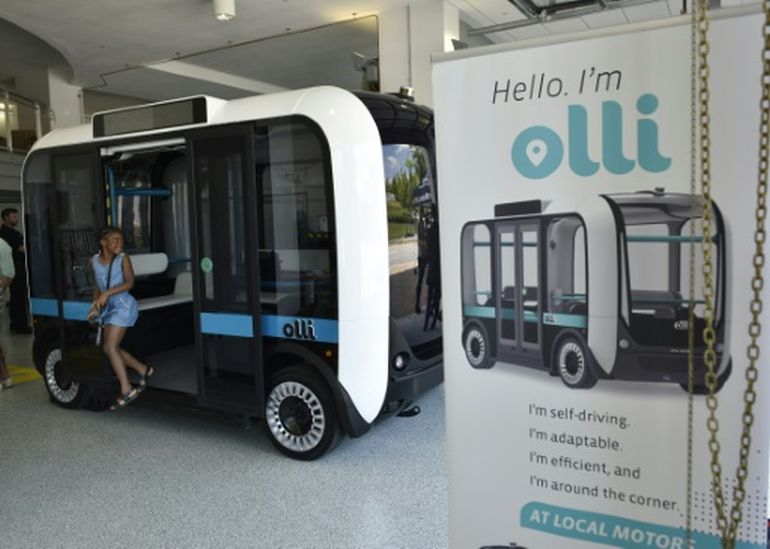 Meet Olli, A Self-Driving Minibus That Can Be 3D-Printed In Hours-1