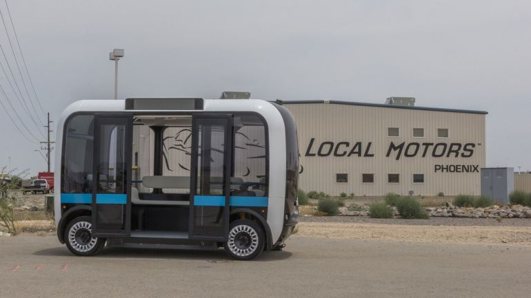Meet Olli, A Self-Driving Minibus That Can Be 3D-Printed In Hours-8