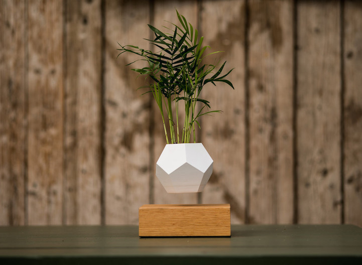Stunning Geodesic Planters Levitate To Create Amazing Air Gardens-1