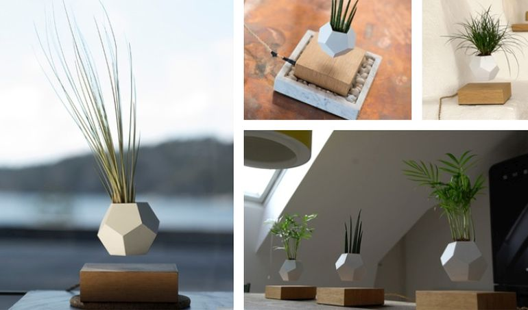 Stunning Geodesic Planters Levitate To Create Amazing Air Gardens-9