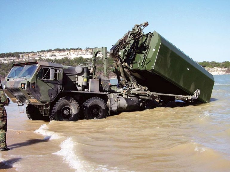 This Foldable Bridge Allows The Army To Get Tanks Across Rivers-3