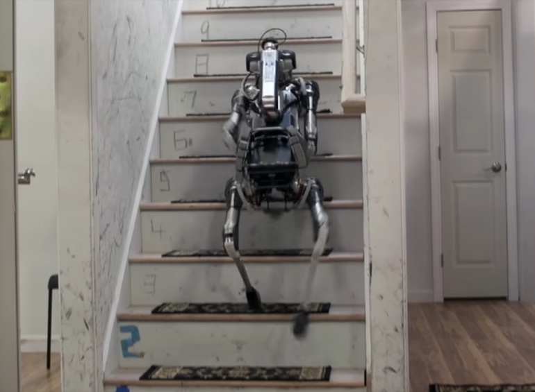 Boston Dynamics' Adorable SpotMini Robot Does Household Chores-2