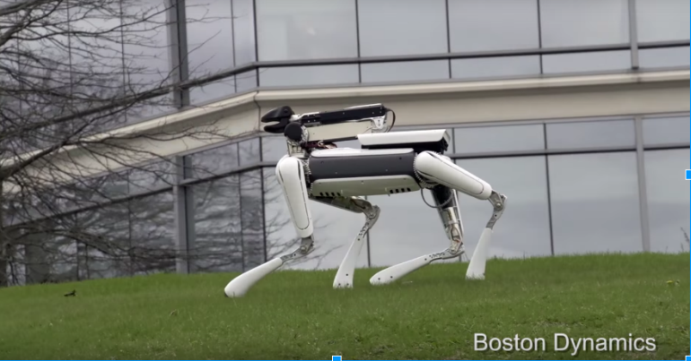 Boston Dynamics' Adorable SpotMini Robot Does Household Chores-3