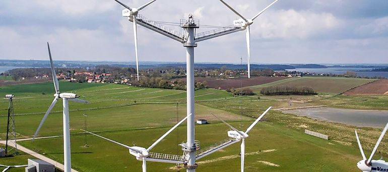 Danish Company Builds Innovative Wind Turbine With 12 Blades-1