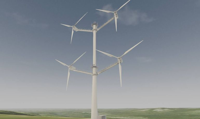 Danish Company Builds Innovative Wind Turbine With 12 Blades-2