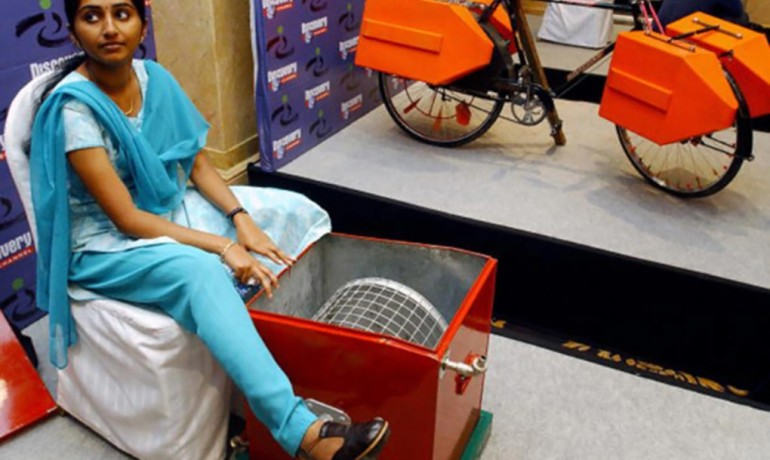 Indian Teenager designs Innovative Human-Powered Washing Machine-2
