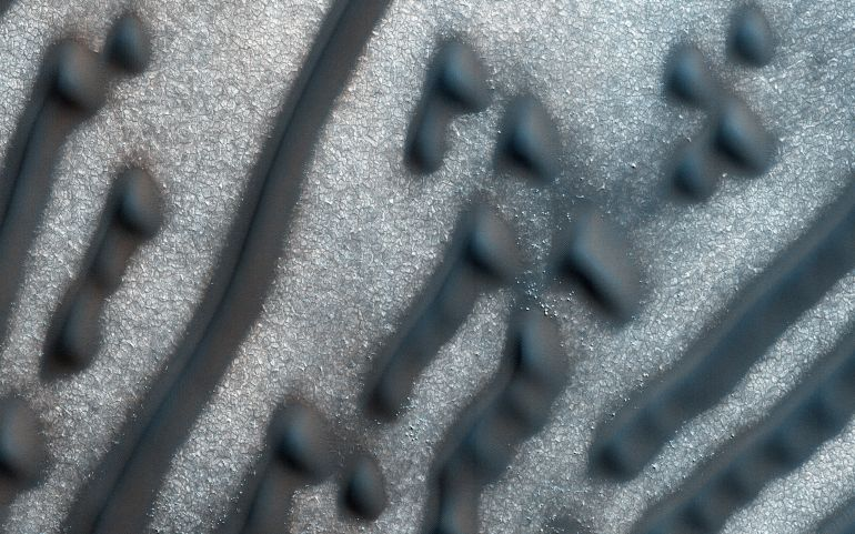 Martian Sand Dunes Carry Bizarre Morse Code Message-2
