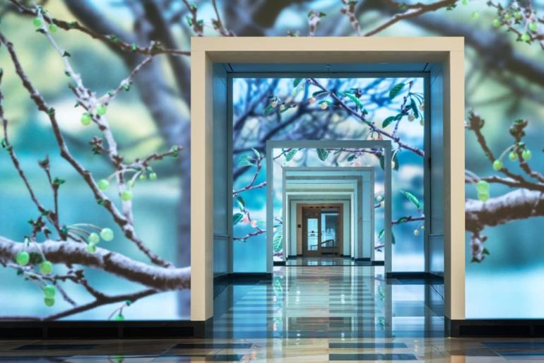 This Building Features Walls Fitted With Motion-Sensing Displays-4