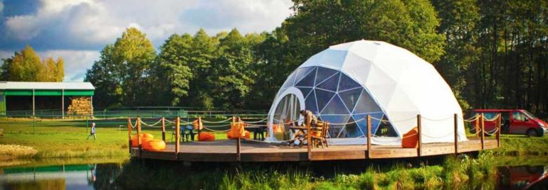 F.Domes Unveils Geodesic Domes That You Can Set Up Within Hours-1
