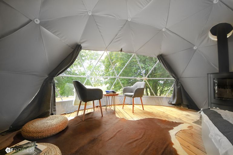 F.Domes Unveils Geodesic Domes That You Can Set Up Within Hours-2