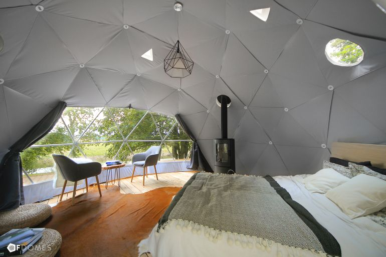 F.Domes Unveils Geodesic Domes That You Can Set Up Within Hours-4
