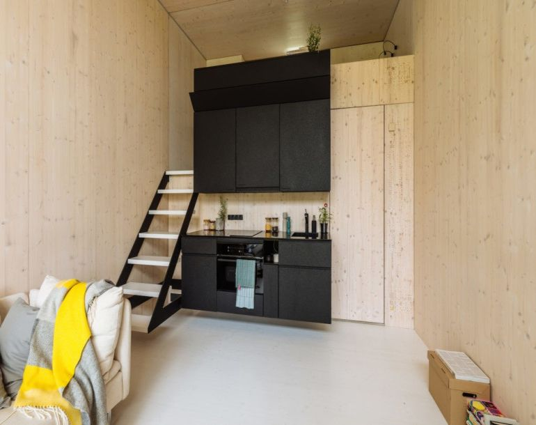 KODA A Stunning Solar Powered Tiny House That Can Move Around