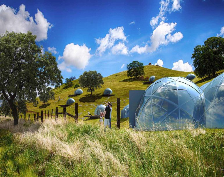 These Futuristic, Modular Dome Homes Can Be Erected On Any