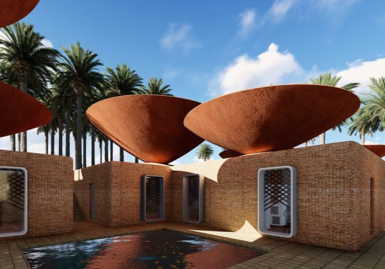 Ingenious, Bowl-Shaped Roofs To Be Iran's Solution To Water Crisis-3