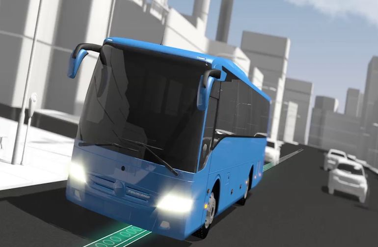 Smart Electric Roads Could Wirelessly Charge Running Vehicles-2