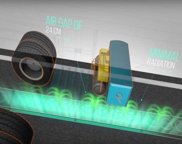 Smart Electric Roads Could Wirelessly Charge Running Vehicles-8