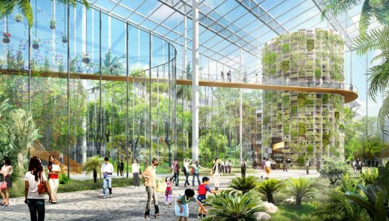 Sprawling Urban Farm Complex Set To Rise Right In The Middle Of Shanghai-1