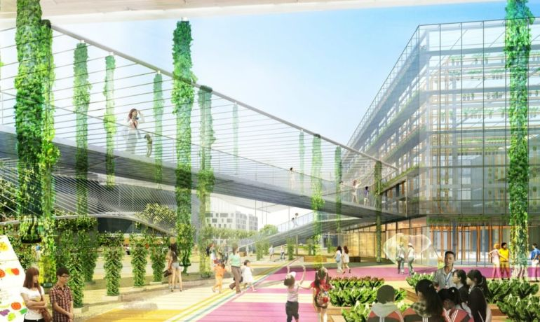 Sprawling Urban Farm Complex Set To Rise Right In The Middle Of Shanghai-4
