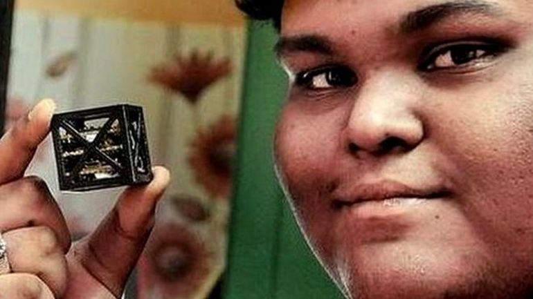 NASA To Launch World's Lightest Satellite Designed By Indian Teenager-1