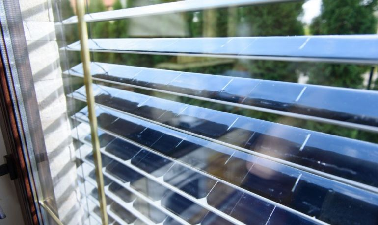 SolarGaps Sun-Tracking Window Blinds That Produce Clean Energy-1
