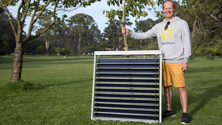 Solargaps Sun Tracking Window Blinds That Produce Clean