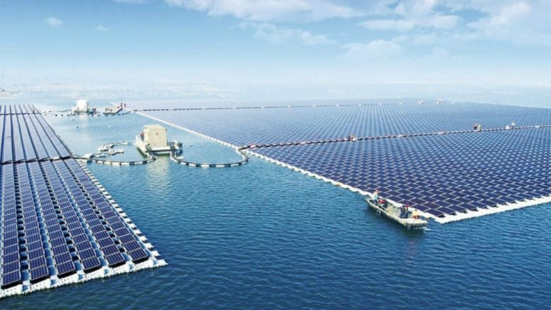 The World's Largest Floating Solar Farm Becomes Operational In China-2