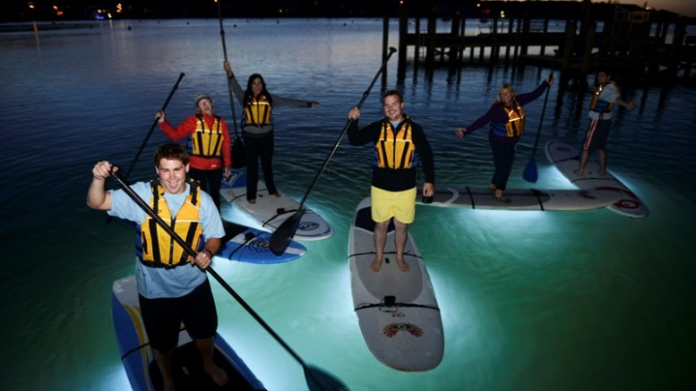 The Smart Led Light Fitted Nightsup Boards For Night Paddling
