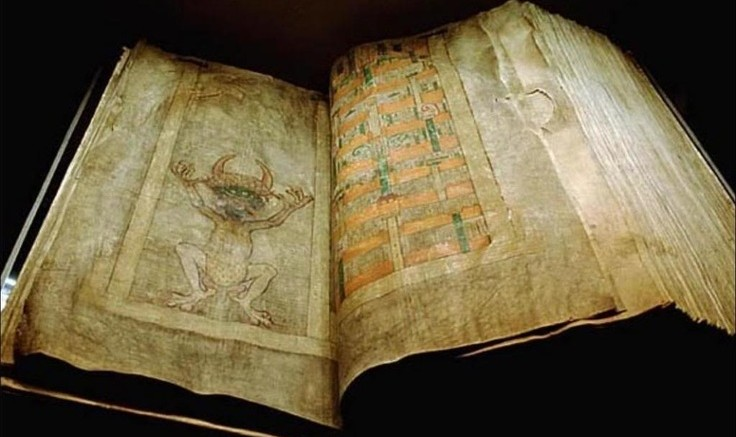 Codex Gigas_Devil's Bible