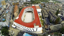China_Tiantai_Primary School_running track_10