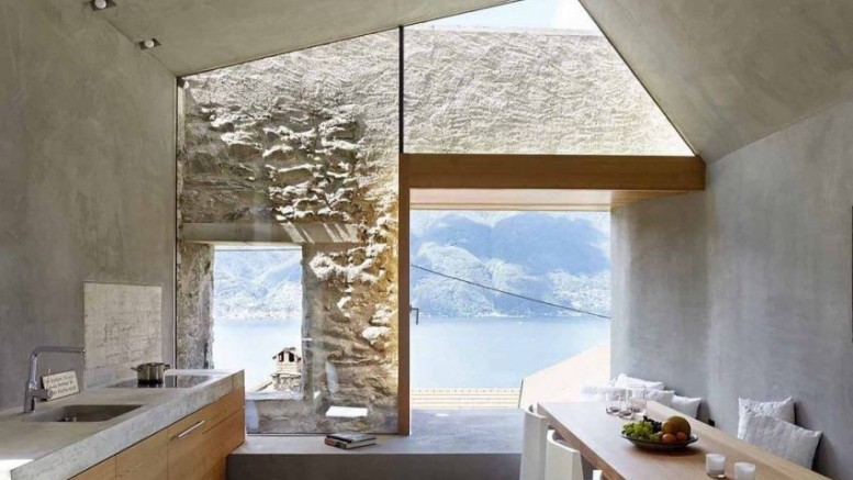 Swiss stone lakehouse_1