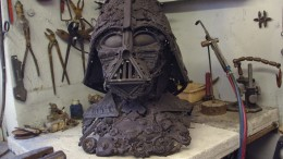 Dark Vader sculpture by Alain Bellino-1