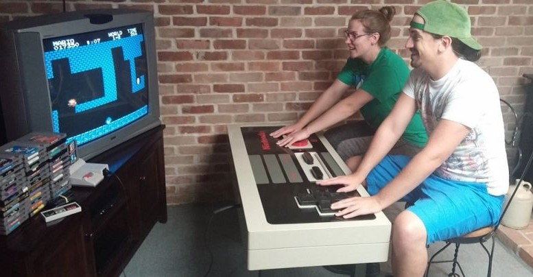 Nintendo Coffee Table_Functioning
