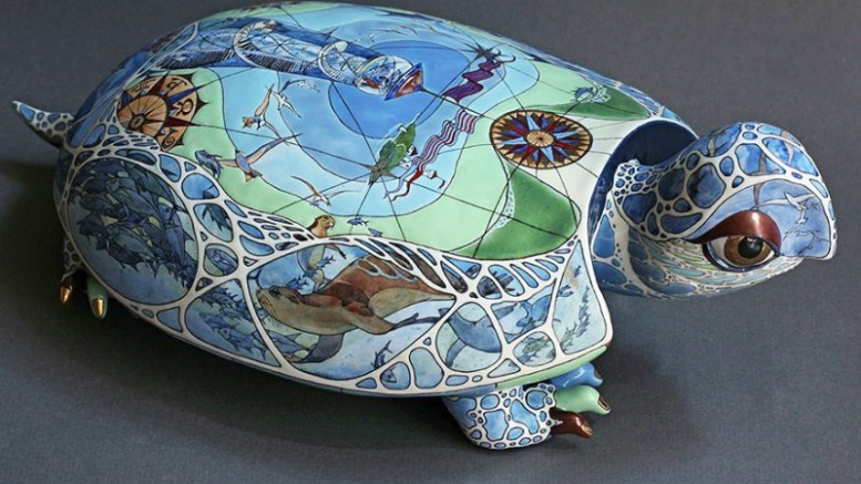 Porcelain Animal Sculptures-4