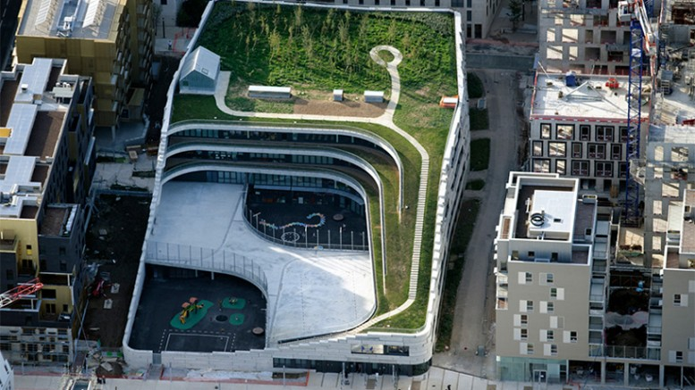 Parisian Primary School_Chartier Dalix Architectes_green_roof