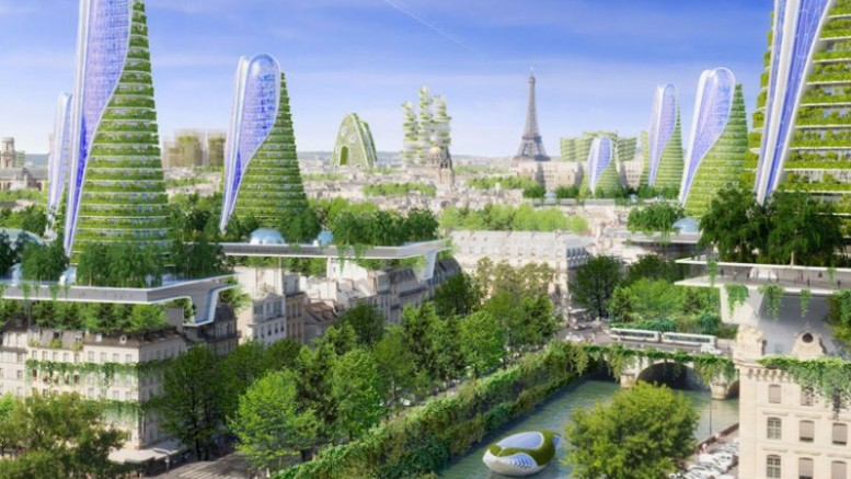 Vincent Callebaut's Vision of Paris-6