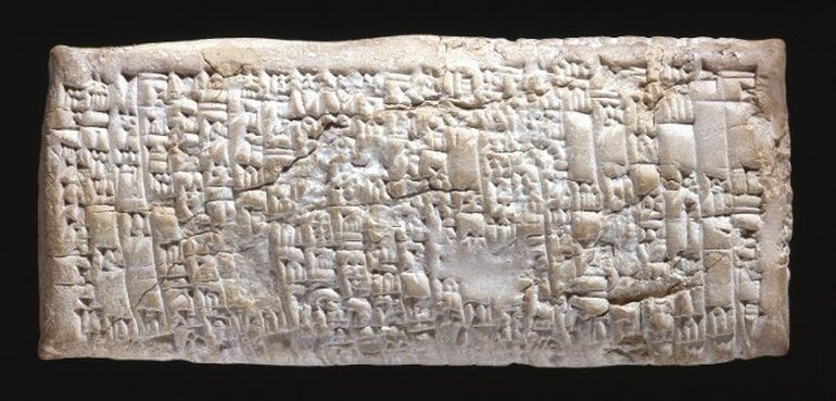 3700-year Old Customer Service Complaint_Ancient Tablet