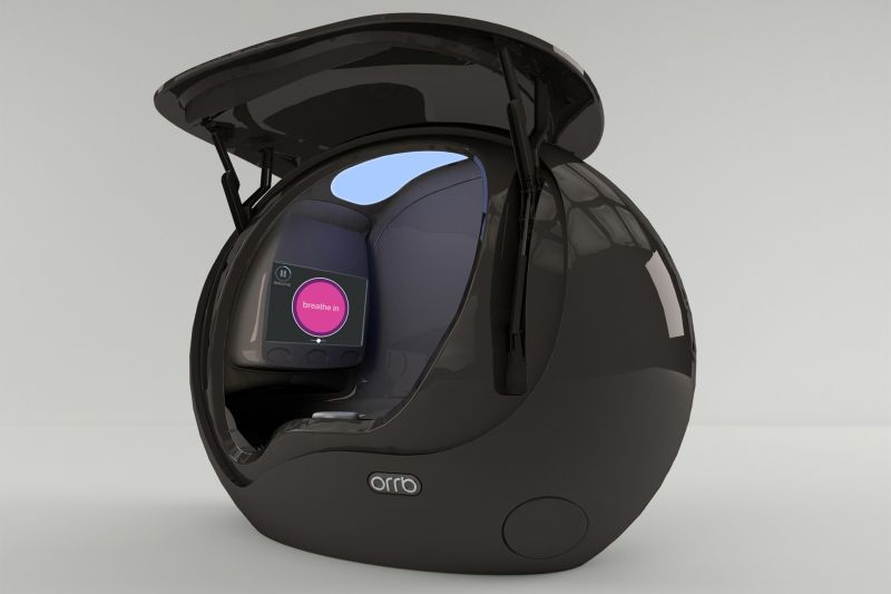 Orrb The Futuristic Pod For Relaxation In Office Spaces