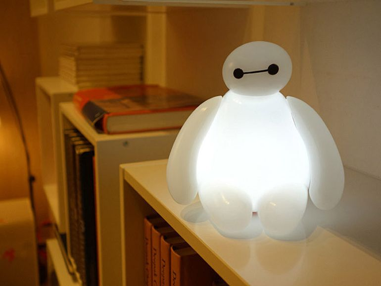 baymax led lamp for affable lighting needs