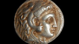 Coins_Alexander the Great_Israeli Cave_2