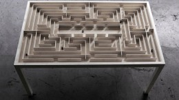 Labyrinth Table by Benjamin Nordsmark-1
