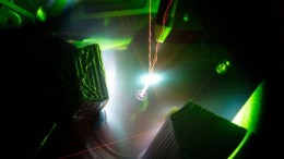 The 200-trillion-watt Trident Laser produces hotter-than-sun plasmas-1