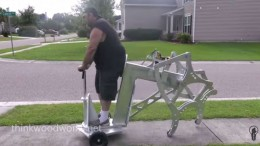 Drill-Powered Walking Machine-1