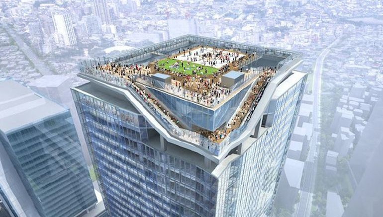 Plans for a new skyscraper in Tokyo's Shibuya district-1