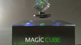 The Levitating Magic Cube Doubles As A Striking Centerpiece Of Your Living Room