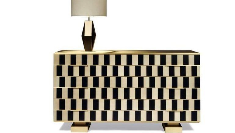 1960s Op Art Resurfaces In Stunning Furniture Collection 1