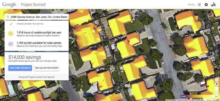 Check If Your Roof Is Solar-Ready, Using Project Sunroof-1