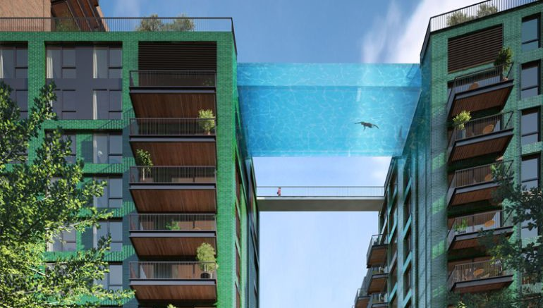London To Get The World's First Glass-Encased Sky Pool-6