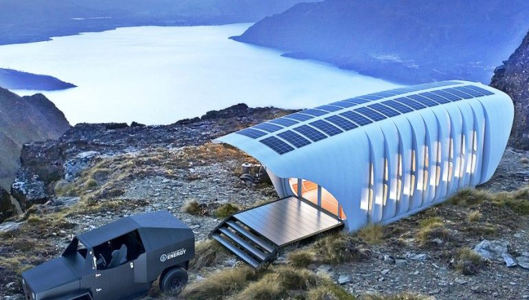 AMIE A 3D-Printed House That Runs On A Car-Based Generator-2