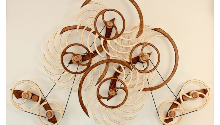 Amazing Kinetic Sculptures Run 24 Hours On A Single Wind-1